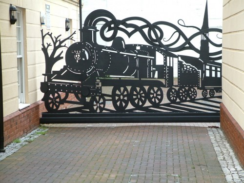Home Design Gate Ideas: Bespoke Artist Blacksmith